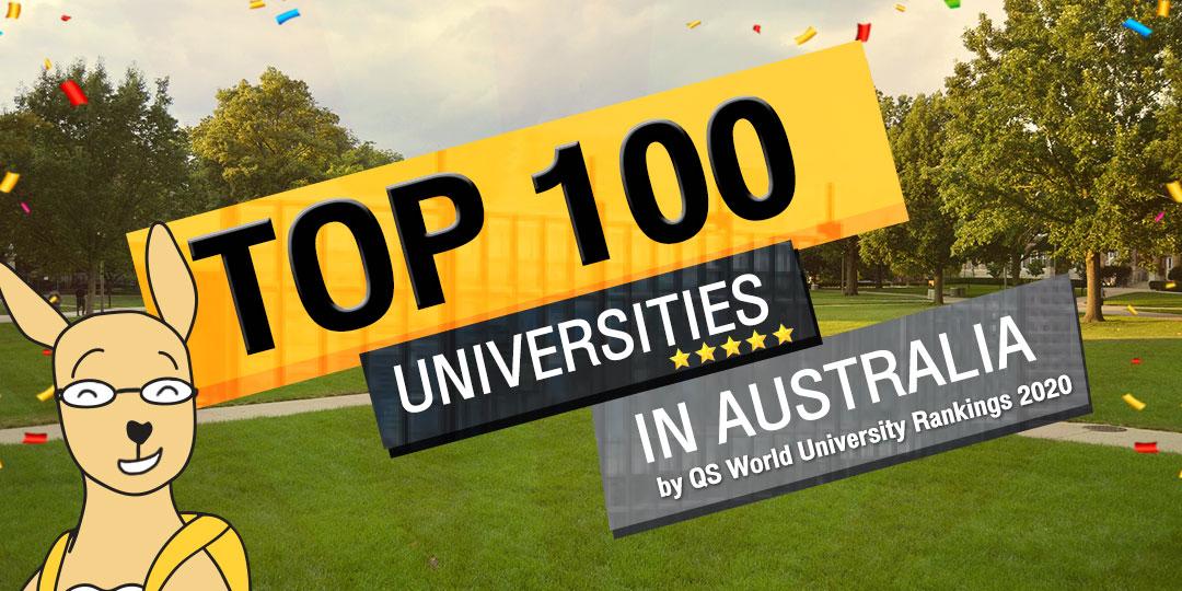 เปิดรายชื่อมหาวิทยาลัยออสเตรเลียติดอันดับ Top 100 ประจำปี 2020