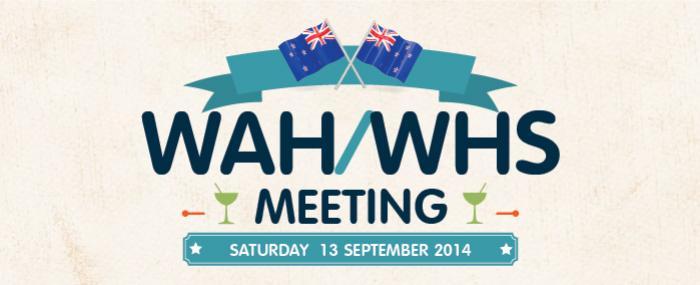 WAH WHS Meeting  September 2014