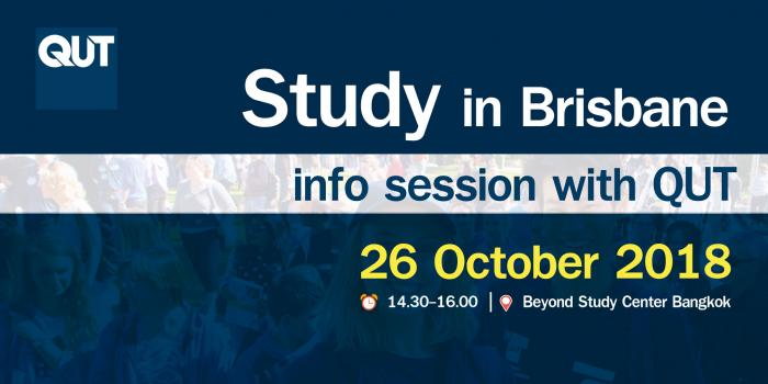 Study in Brisbane info session with QUT