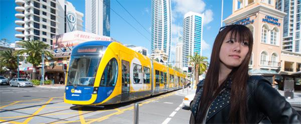 G link รถไฟฟ้ารางเบาสาย Gold Coast เปิดให้ใช้บริการแล้ว